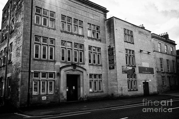 Wall Art - Photograph - Bath Army Reserve Centre Former Territorial Army Centre In The Former Albion Cabinet Works Building  by Joe Fox