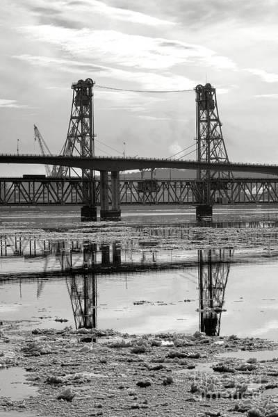 Photograph - Bath Bridges In Winter by Olivier Le Queinec