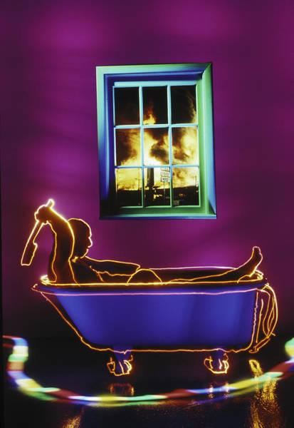 Bath Tub Photograph - Bath by Garry Gay