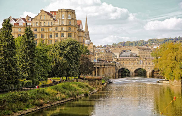 Photograph - Bath-on-avon 2 By Mike Hope by Michael Hope