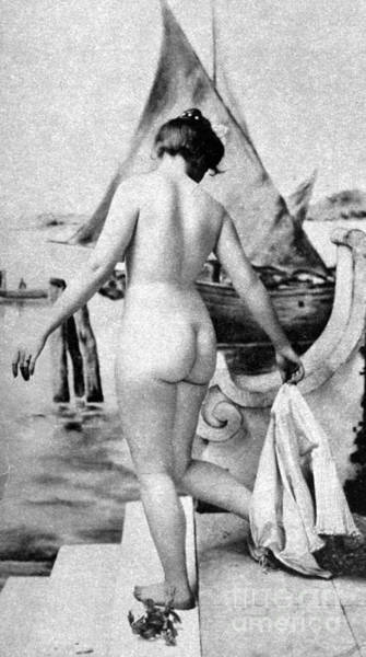 Photograph - Bathing Nude, 1902 by Granger