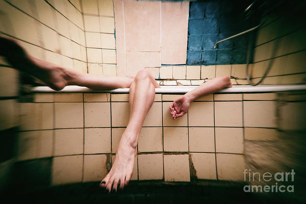Photograph - Bathroom #7866 by Andrey Godyaykin