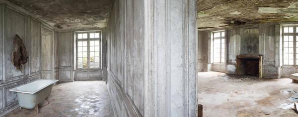 Wall Art - Photograph - Bathroom Tub In Deserted Chateau - Urban Exploration  by Dirk Ercken