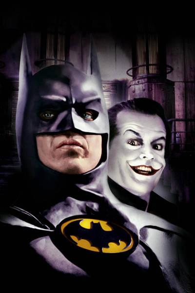 Wall Art - Digital Art - Batman 1989 by Geek N Rock