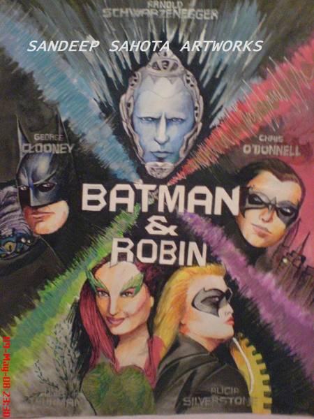 Orlando Bloom Painting - Batman by San Art Studio