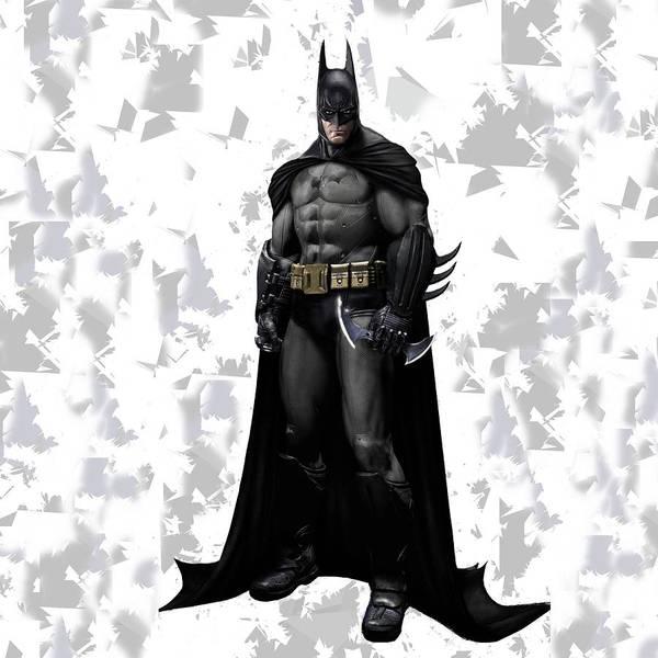 Mixed Media - Batman Splash Super Hero Series by Movie Poster Prints