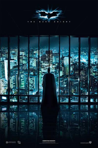 Supervillain Digital Art - Batman The Dark Night by Geek N Rock