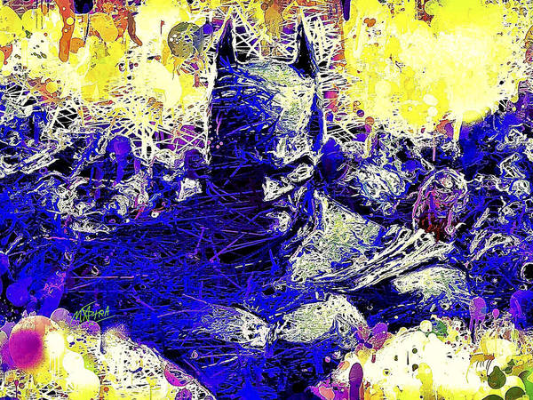 Mixed Media - Batman 2 by Al Matra