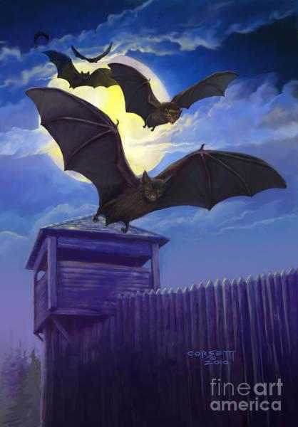 Batsfly Art Print