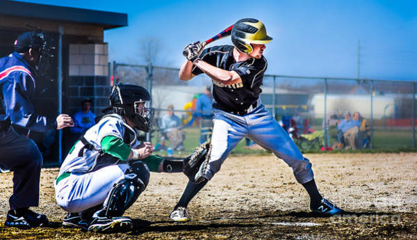 Photograph - Batter Up by Michael Arend