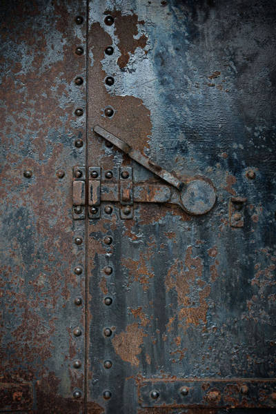 Photograph - Battery Door by Bud Simpson