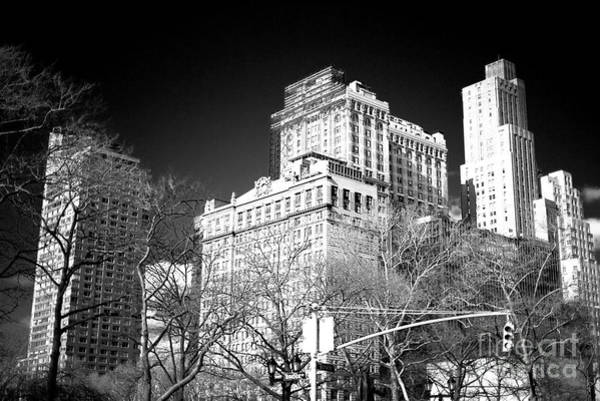 Photograph - Battery Park Buildings New York City by John Rizzuto