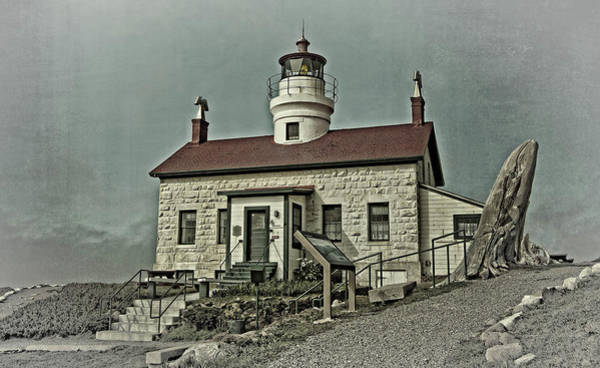 Photograph - Battery Point Lighthouse by Thom Zehrfeld