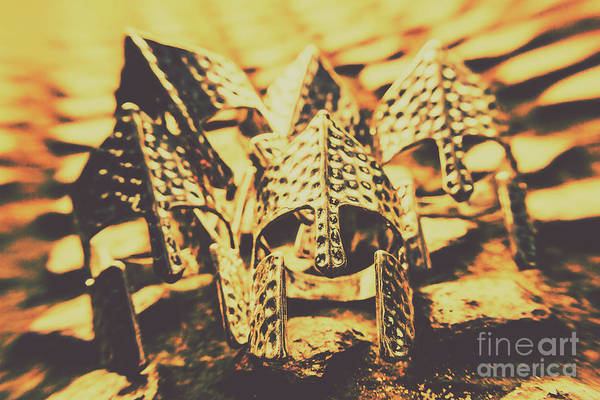 Warfare Wall Art - Photograph - Battle Armoury by Jorgo Photography - Wall Art Gallery