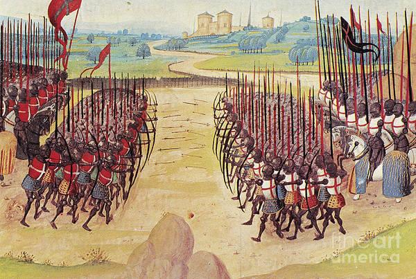 Wall Art - Photograph - Battle Of Agincourt, 1415 by Granger