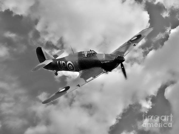 Photograph - Battle Of Britain Hawker Hurricane by Martyn Arnold