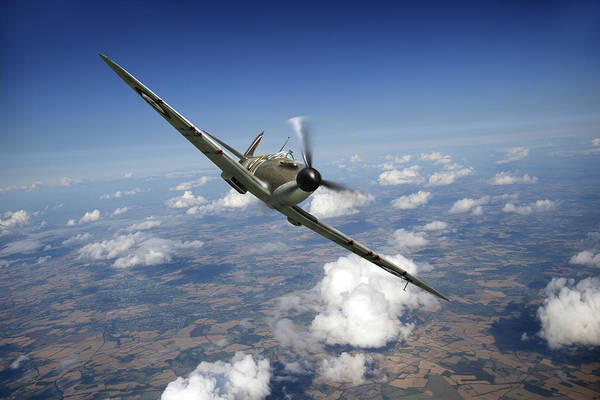 Photograph - Battle Of Britain Spitfire Mk I by Gary Eason