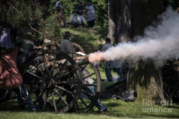 Pemberton Photograph - Battle Of Champion Hill by David Bearden