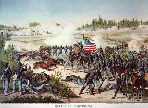 Allison Photograph - Battle Of Olustee, 1864 by Granger
