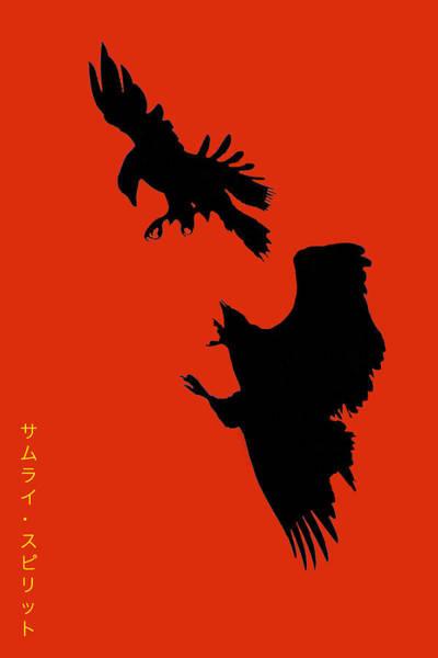 Battle Of The Eagles Art Print