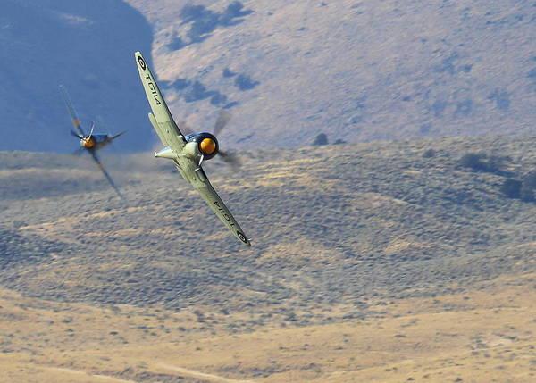 Photograph - Battle Of The Hawker Sea Furys by John King