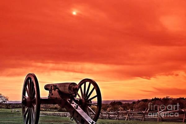 Gettysburg Battlefield Photograph - Battlefield - Gettysburg by DJ Florek