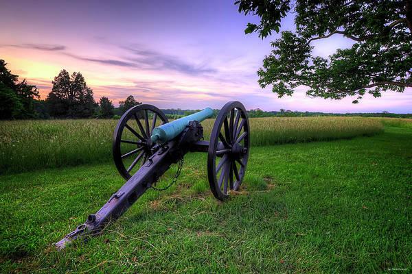 Photograph - Battlefield's Last Light by Ryan Wyckoff