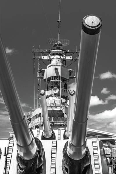 Photograph - Battleship Missouri by Colleen Coccia