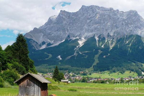 Photograph - Bavarian Alps Landscape by Carol Groenen