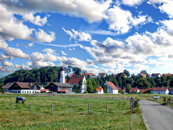 Photograph - Bavarian Village by Anthony Dezenzio