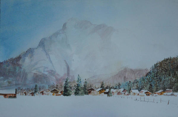 Painting - Bavarian Winter by P Anthony Visco
