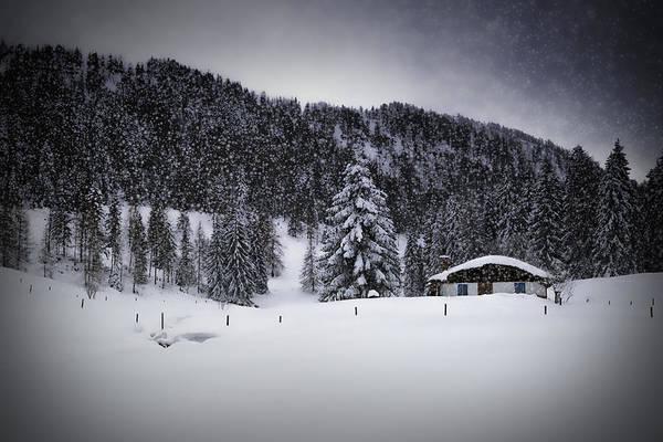 Alpine Photograph - Bavarian Winter's Tale Viii by Melanie Viola