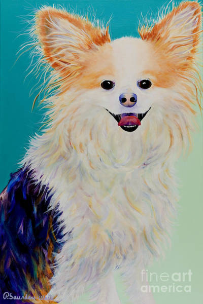 Painting - Baxter by Pat Saunders-White