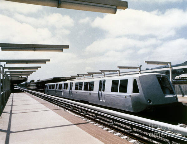 1981 Photograph - Bay Area Rapid Transit by Granger