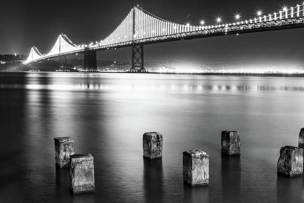 Photograph - Bay Bridge 1 by Stephen Holst