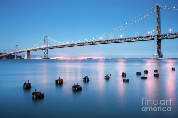 Wall Art - Photograph - Bay Bridge Blues, San Francisco by Martin Williams