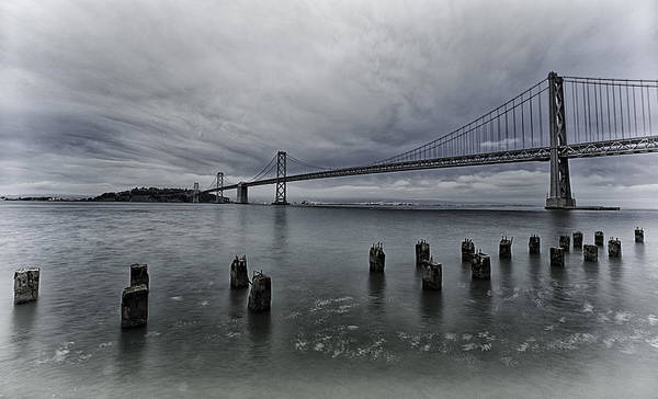 Photograph - Bay Bridge by Chris Cousins