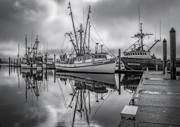 Photograph - Bay In Black And White by Bill Posner