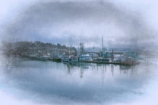 Photograph - Bay In Chalk by Bill Posner