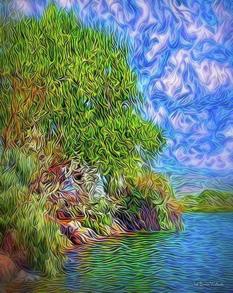 Digital Art - Bay Of Enchantment by Joel Bruce Wallach