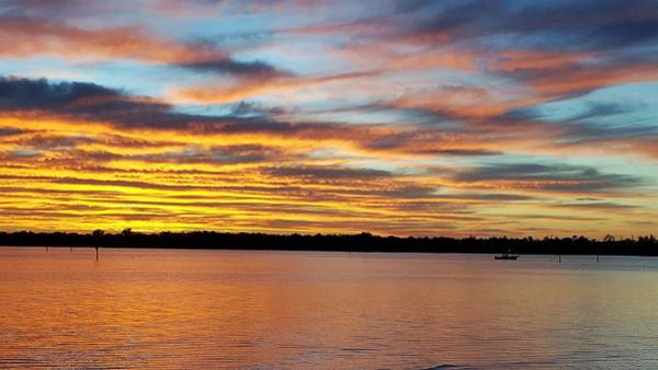 Sunset Wall Art - Photograph - Bay Reflections by Ric Schafer