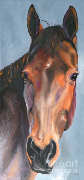Painting - Thoroughbred Royalty by Susan A Becker
