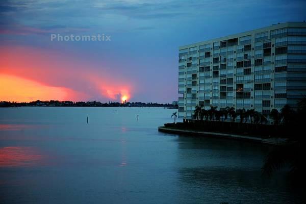 Willett Photograph - Bay Sunset 3 by Mike Willett