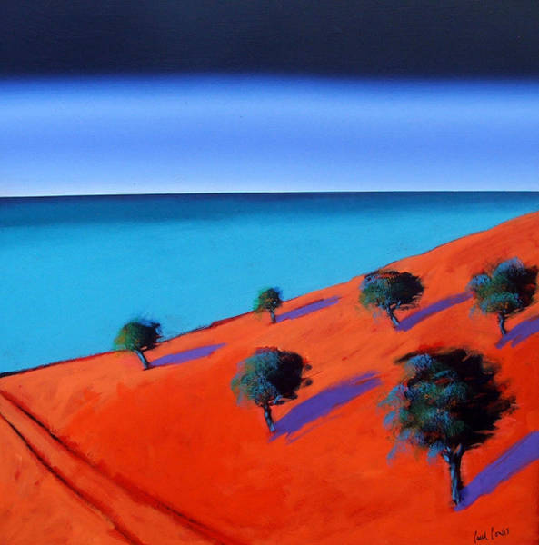 Sea Land Painting - Bay Two by Paul Powis