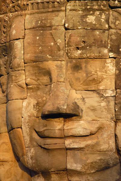 Wall Art - Photograph - Bayon Temple  by Liz Pinchen