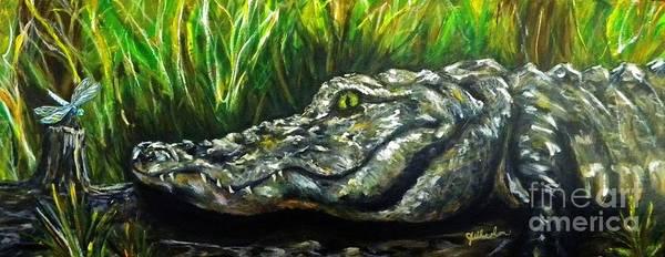 Alabama Painting - Bayou Buddies by JoAnn Wheeler