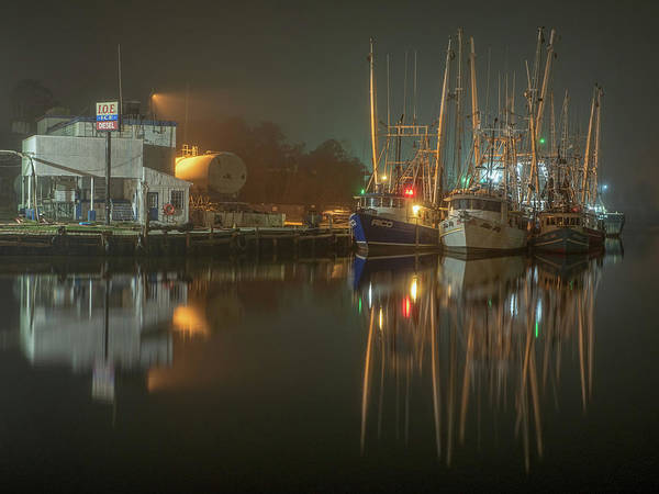 Photograph - Bayou Fog #2 by Brad Boland
