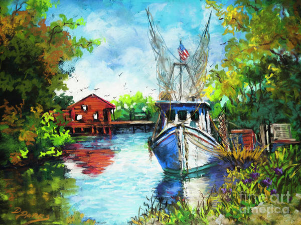 Painting - Bayou Lafourche by Dianne Parks