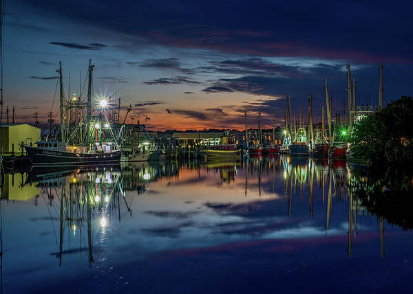 Photograph - Bayou Reflections At Dusk #2 by Brad Boland