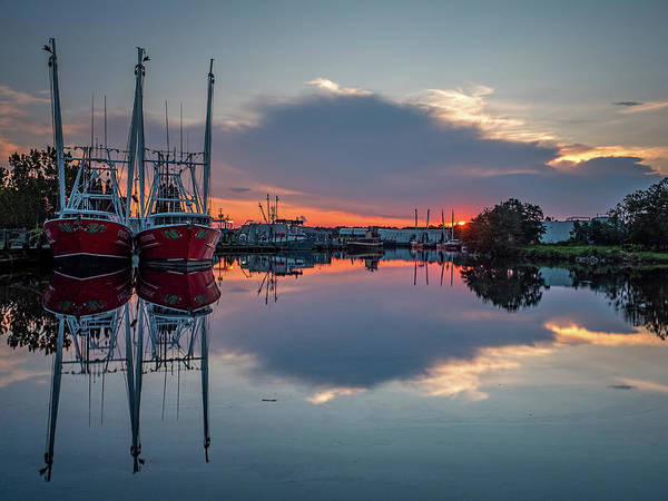 Photograph - Bayou Sunset by Brad Boland